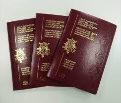 Belgium passport